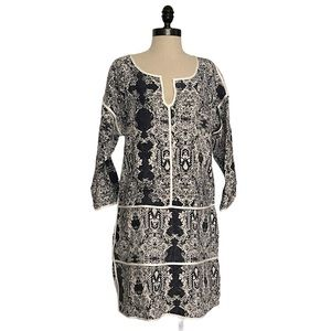 Piperlime Collection Ikat Linen Dress